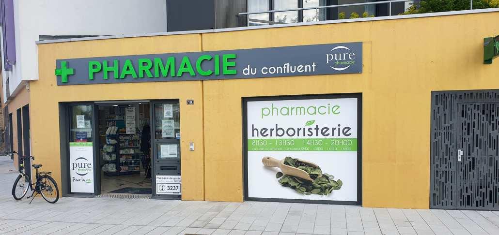extérieur pharmacie Rezé