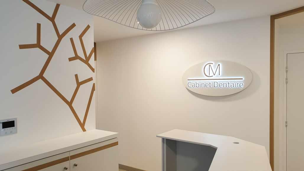décoration intérieure cabinet dentaire nantes