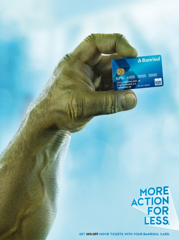 Banrisul Credit Card: More movies for less - Adeevee