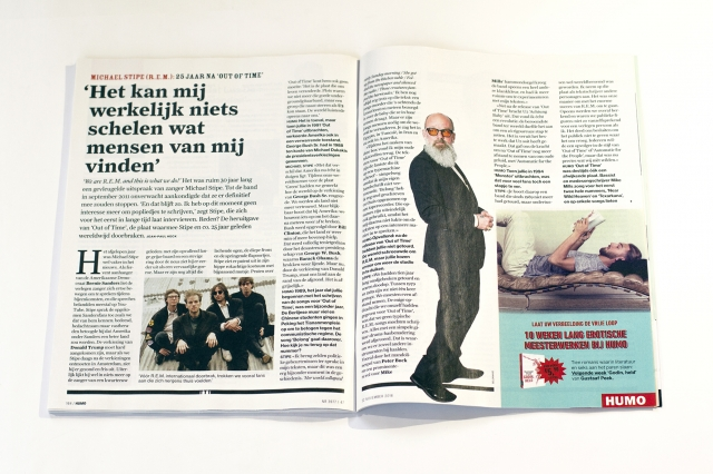 Humo Magazine: Double Page 5