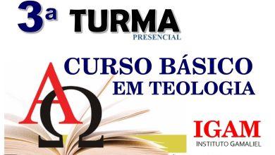Foto de 3ª TURMA CURSO  BÁSICO EM TEOLÓGICO