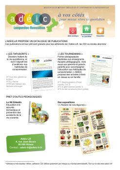 Affiche publications