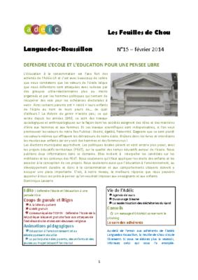 N°15 – février 2014