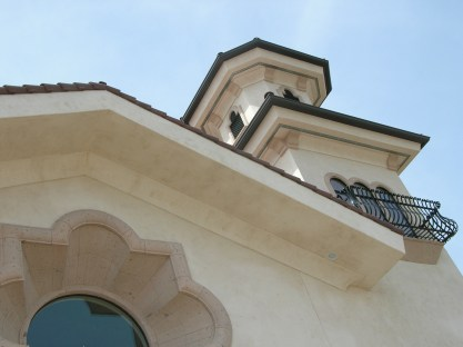 Stucco, Precast Details, Holy Cross Catholic Church - Porterville, CA