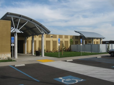 Main Entrance, Patio Area