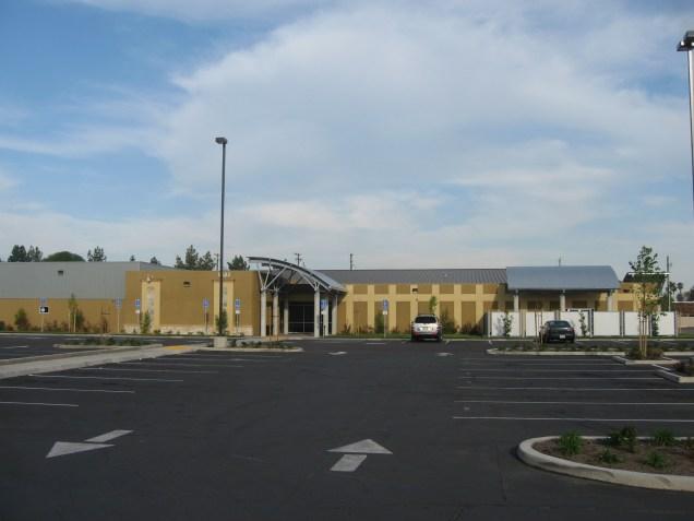Site, Main Entrance View