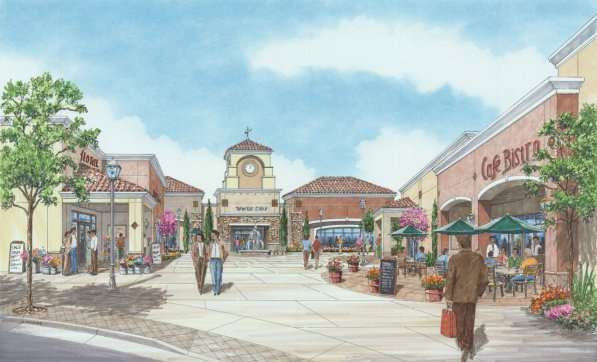 Proposed Retail Shopping Court