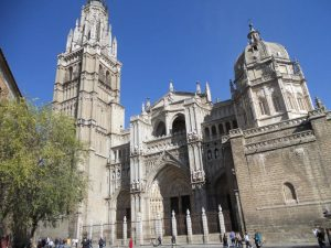 Toledo cathedral Gate