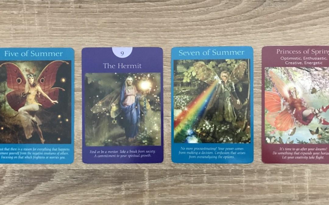 Fairy Tarot Message Reveal