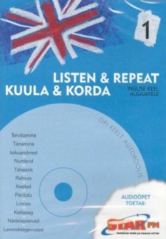Kuula ja korda inglise keel algajatele 1 - OÜ Adelante koolitus