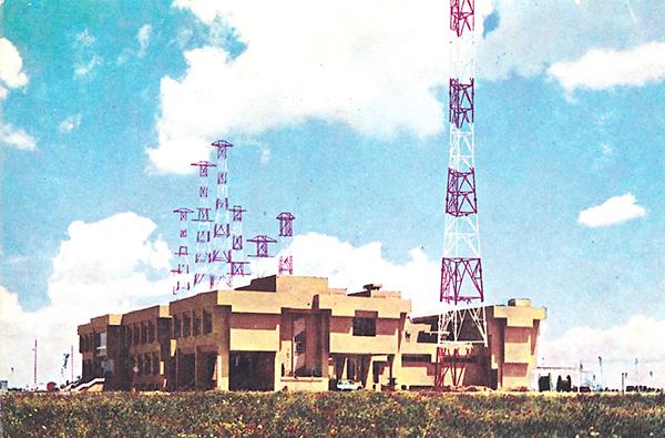 Exposición de antiguos equipos de radio 1