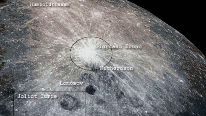 Vieron fuego en la Luna 1