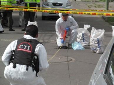 Atentado terrorista en Colombia/David Maiolo