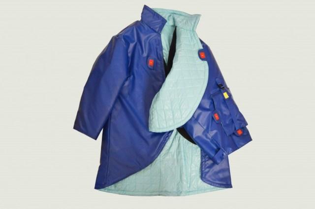 manteau bleu 1