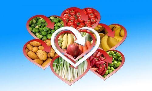 Dieta para el cuidado de nuestro corazón