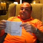 Esperando un vuelo a Kuala Lumpur en 2010