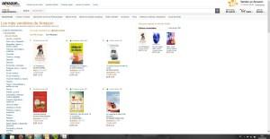 Segundo libro más vendido en Amazon el 31 de Marzo de 2015