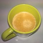 Preparamos un café (o cualquier otra infusión) en otra taza