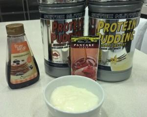 Protein pudding de Scitec Nutrition