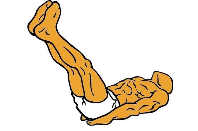 Elevaciones abdominales