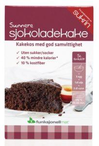 Preparado para elaborar bizcocho de chocolate sukrin