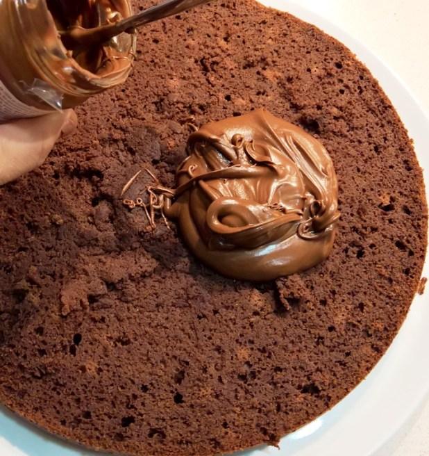 Relleno de Crema de Chocolate belga con avellanas sin carbohidratos