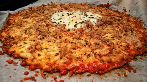 Pizza Low-Carb con masa de coliflor