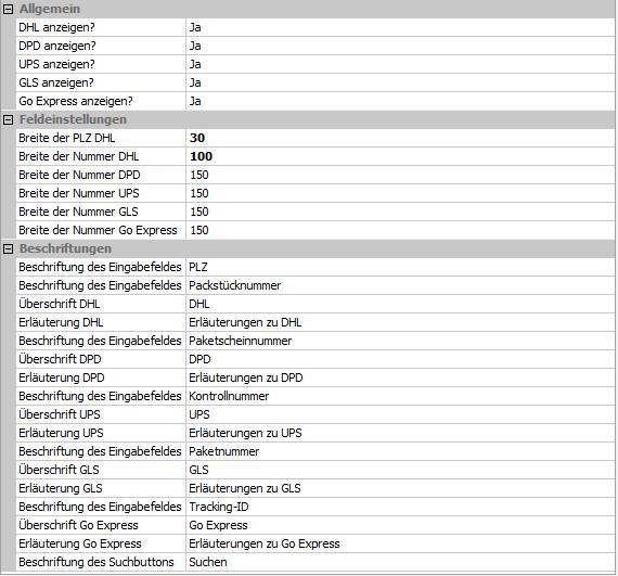 Modul Sendungsverfolgung f252r Smartstore 6