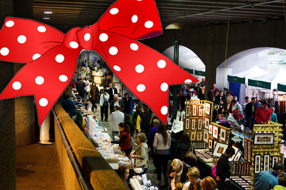 Where to spend your Christmas cash- Melbourne Markets!