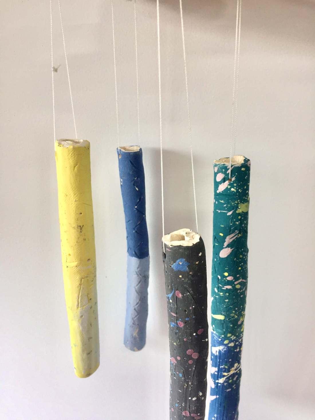 Ceramic wind chimes