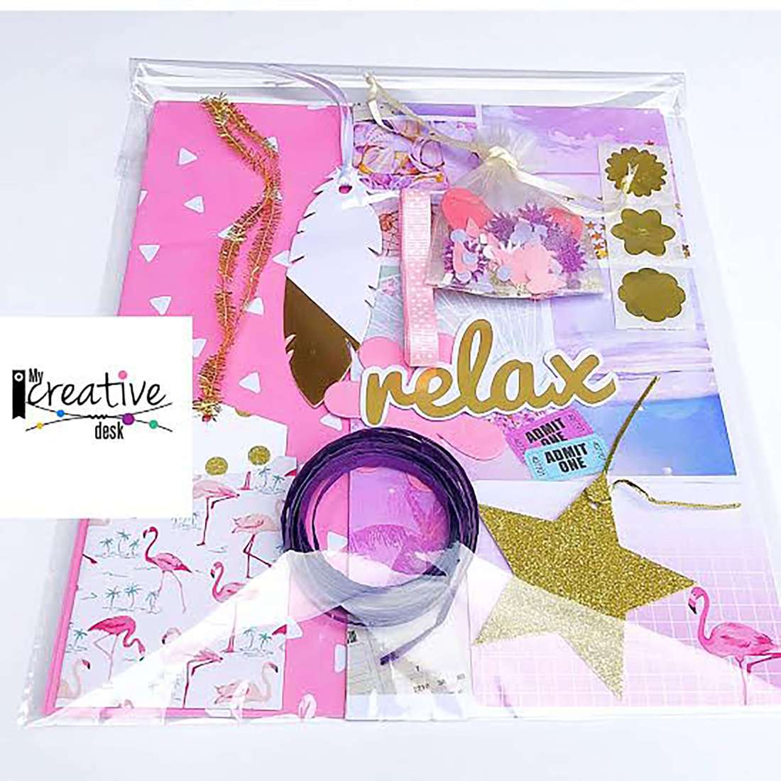 My Creative Desk - Gift wrapping pack