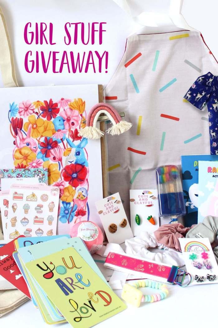 GIRL STUFF giveaway!