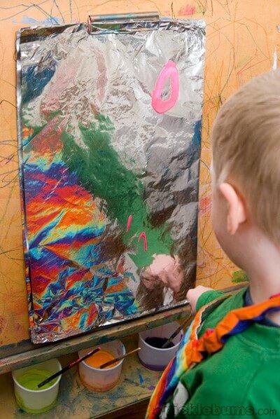 painting-on-foil-art-prompt