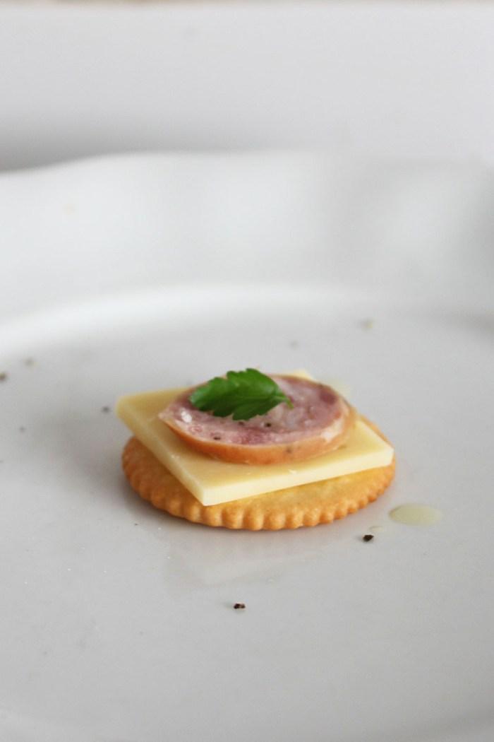 Degustation Party Food Menu