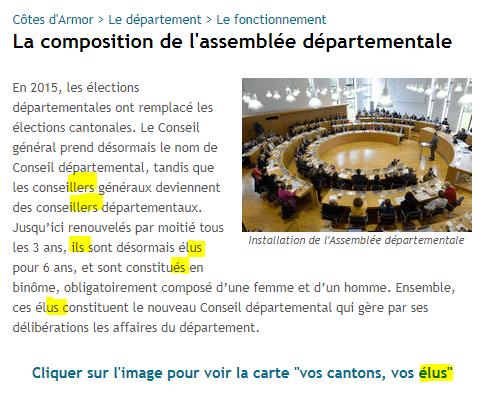 Extrait site du Département des Côtes d'Armor