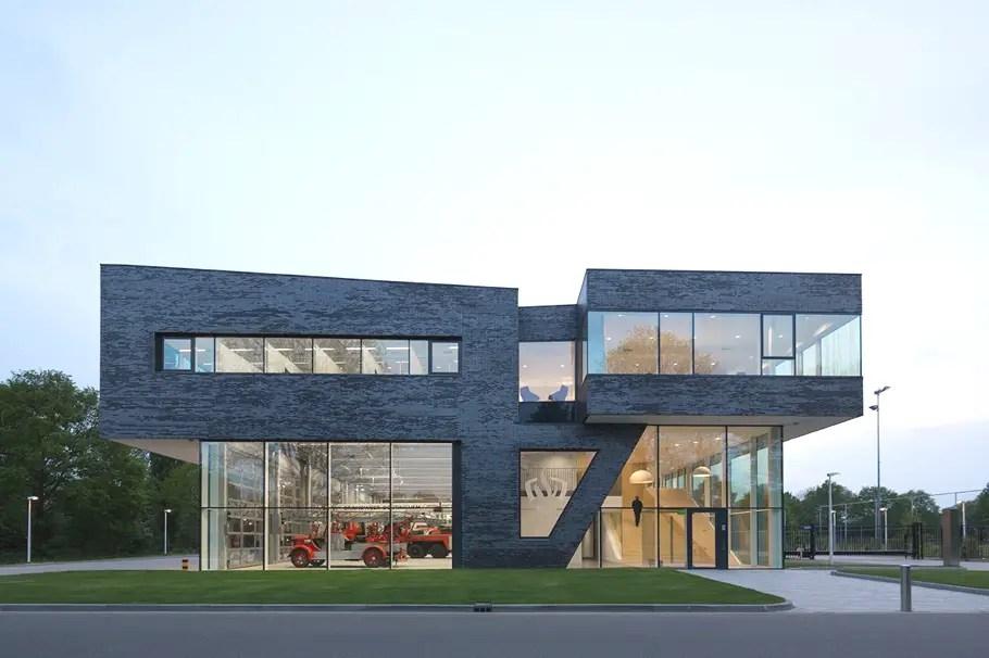 Fire Station Doetinchem Design By Bekkering Adams Architecte Adelto Adelto