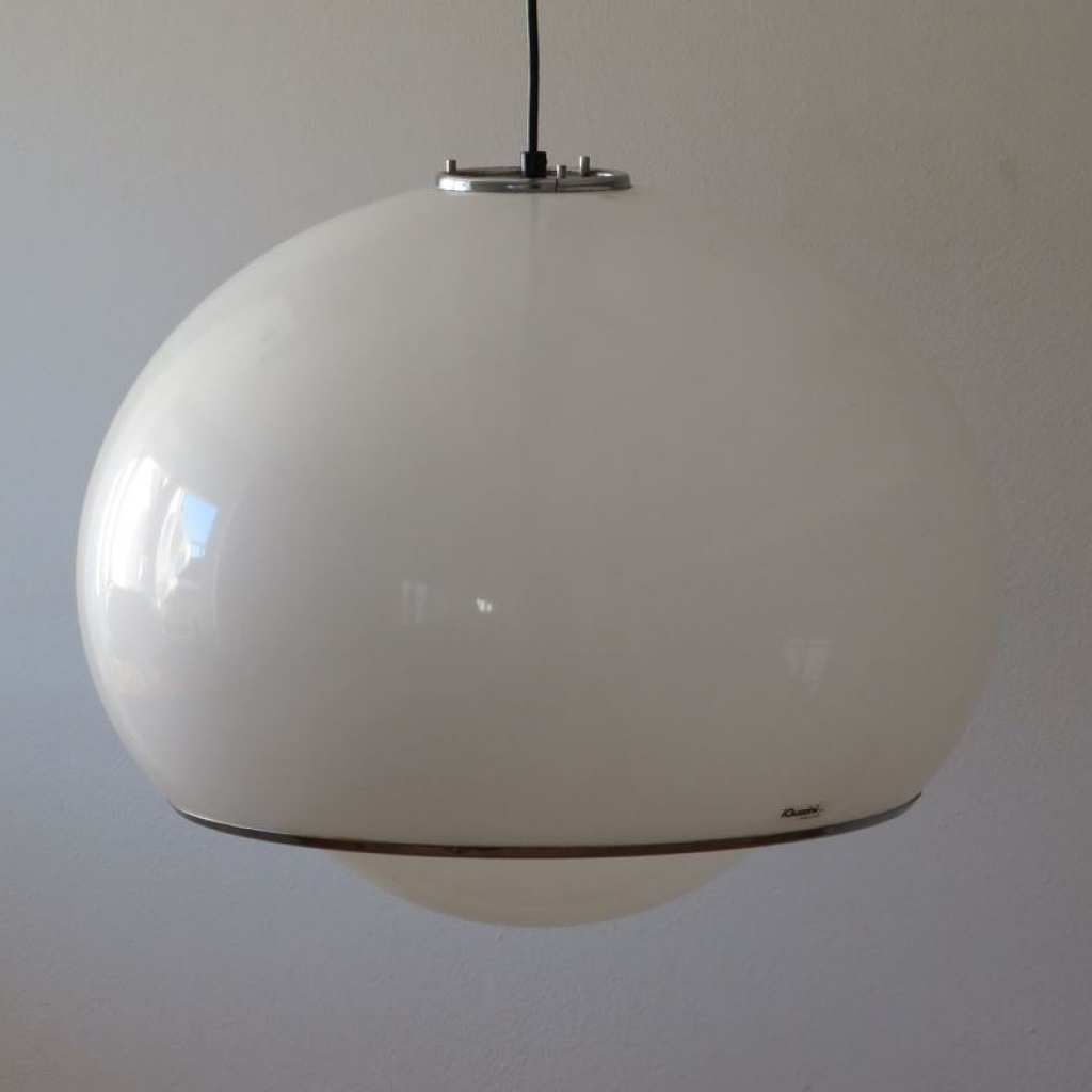 Lampada da terra iguzzini design anni '70 '80 guzzini vintage. Lampada Vintage Di Guzzini Italia Anni 60 Ademore