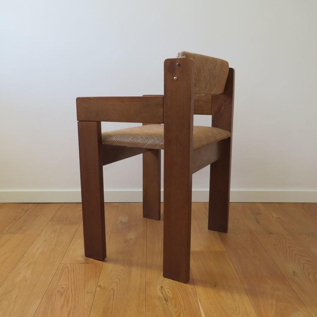 Set di 3 sedie anni 60 vintage design modernariato. Sedia Vintage In Legno Italia Anni 60 Ademore