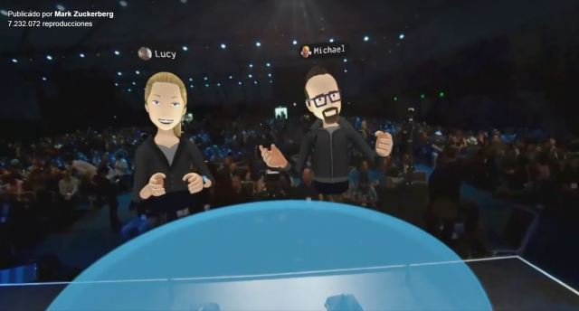 Transmisión en vivo desde Facebook de Mark Zuckerberg en Realidad Virtual