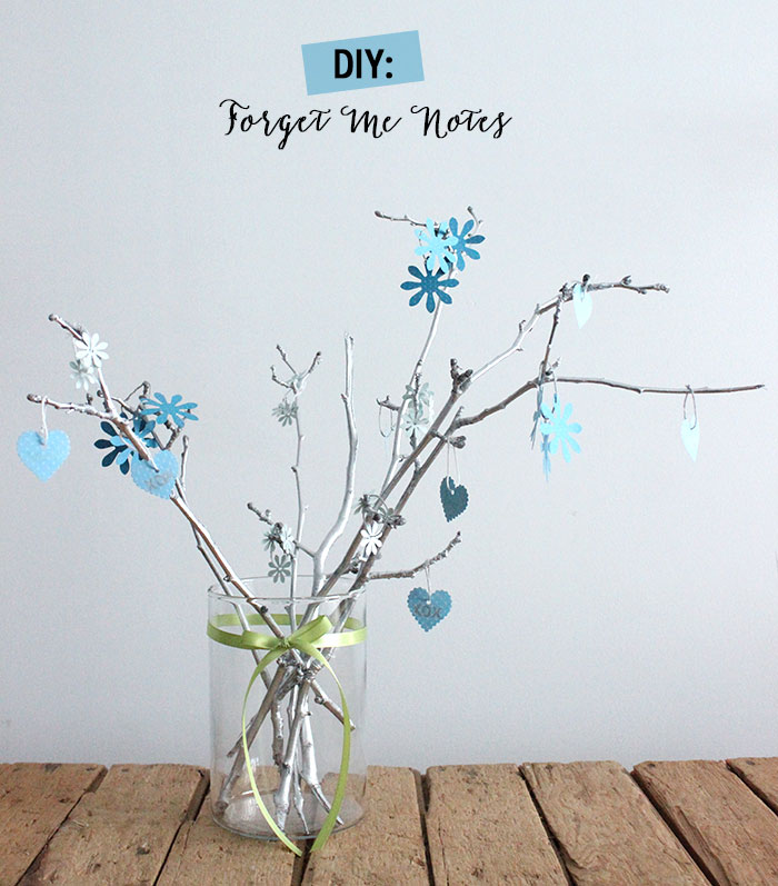 DIY: Forget Me Notes