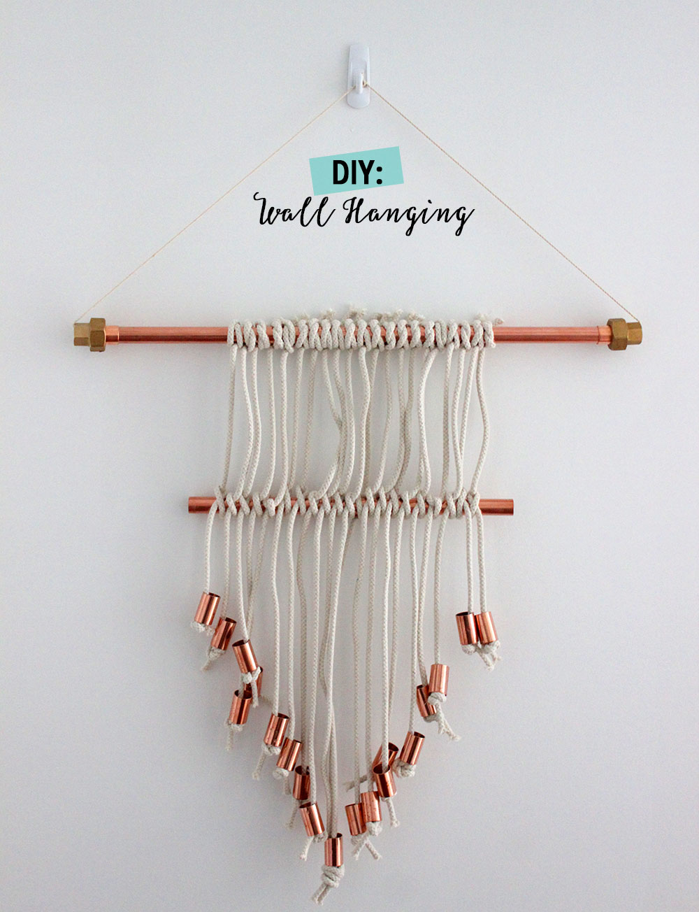 DIY: Easy Wall Hanging