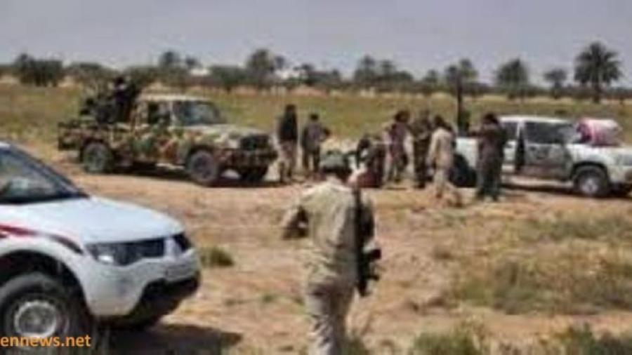 اندلاع المعارك العنيفة بين قوات الجيش الوطني والمليشيات الانقلابية إثر هجوم للجيش على مواقع الانقلابيين غرب مديرية الغيل