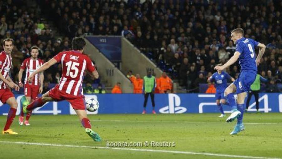 اتلتيكو مدريد يتأهل لنصف نهائي الابطال على حساب ليستر سيتي