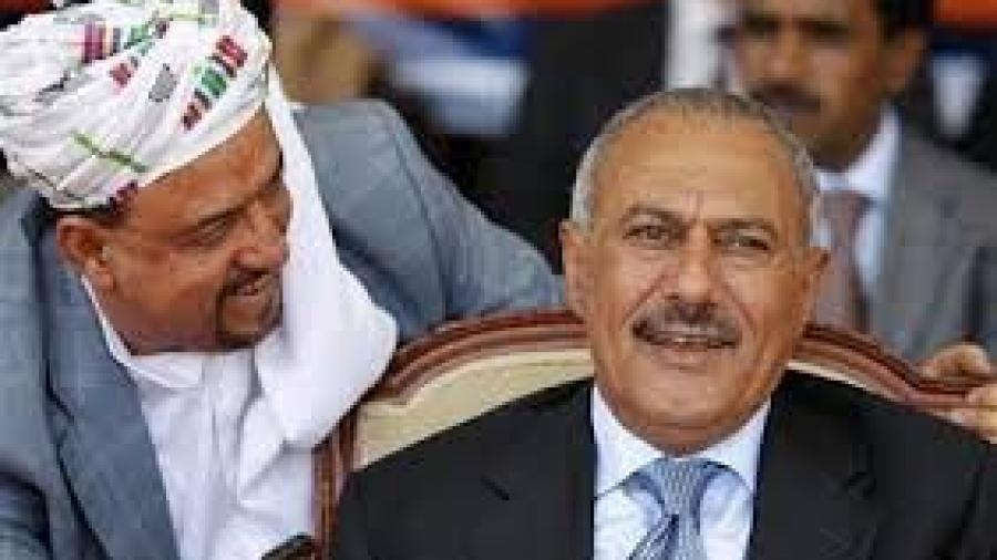 """المخلوع صالح يبدي موافقته على مبادرة البركاني """"لمواجهة العدوان"""""""