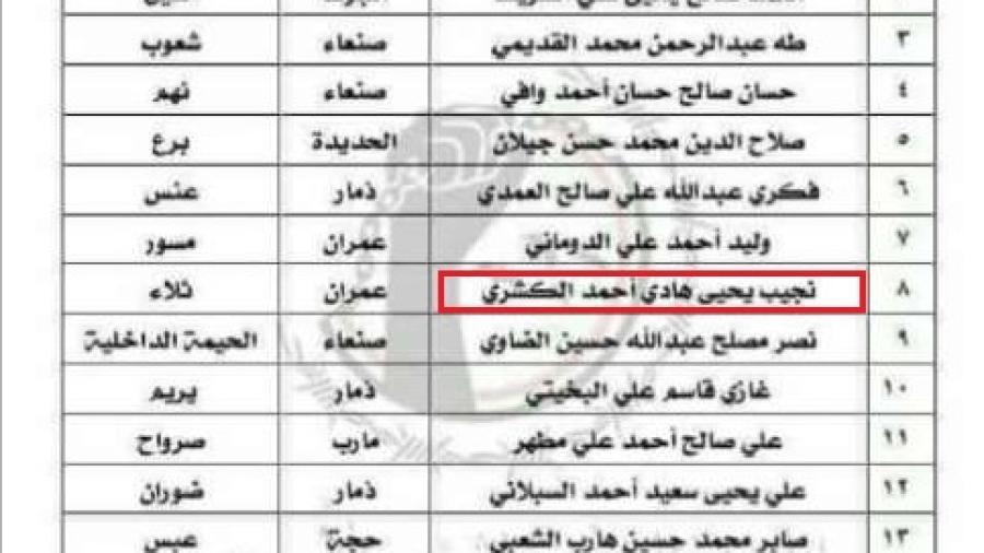 سلطات مأرب تنفي إطلاق سراح قائد حراسة عبد الملك الحوثي