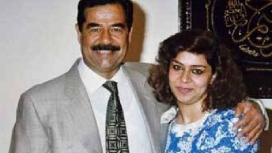 """رغد صدام حسين تكشف عن رسالة خطية من ابيها وهو في السجن تتحدث عن """"خطة الموت"""""""