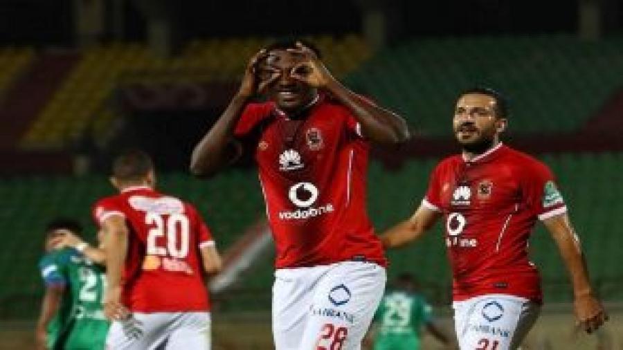 الأهلي يقسو على بتروجيت في الدوري المصري