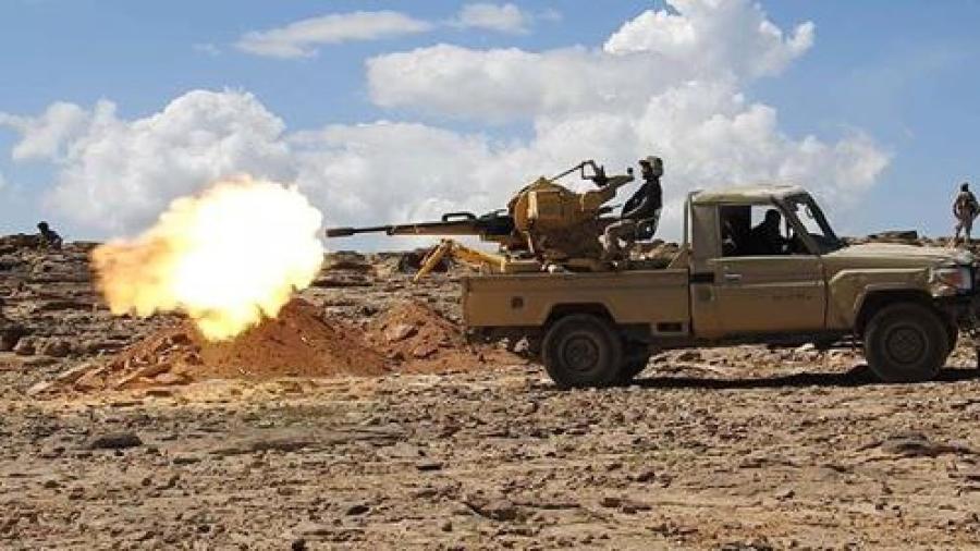 الجيش الوطني يحبط محاولة تسلل للمليشيا في برط العنان بالجوف ويكبدها خسائر فادحة