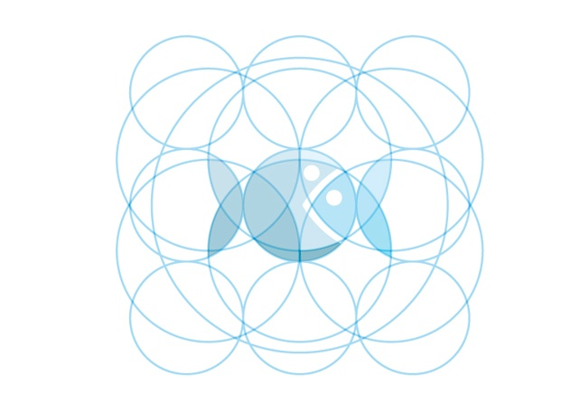 GOLDEN RATIO – CIRCLES LOGO by Andrea Banchini
