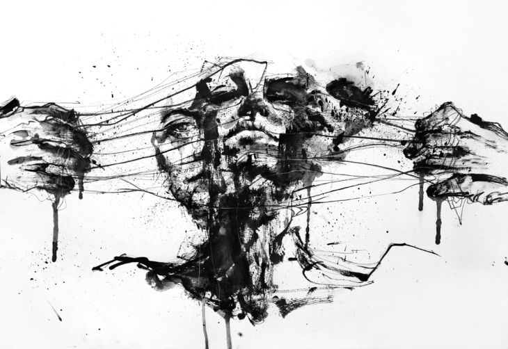 Paintings by Agnes Cecile